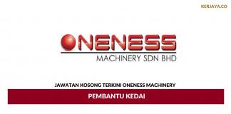 Permohonan Jawatan Kosong Oneness Machinery