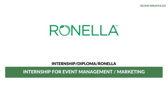Ronella ~ Internship for Event Management / Marketing
