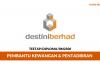 Pembantu Tadbir Destini Berhad ~ Gaji RM2500