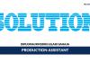 Solution Biogen ~ Production Assistant