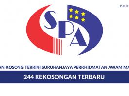 Permohonan Jawatan Kosong Suruhanjaya Perkhidmatan Awam Malaysia ~ 244 Kekosongan Terbaru