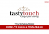 Eksekutif Akaun Tasty Touch Catering ~ Minima Diploma/Gaji RM2000