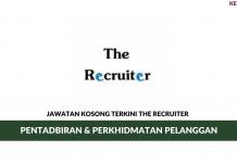 Permohonan Jawatan Kosong The Recruiter