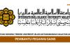 Universiti Islam Antarabangsa Malaysia (UIAM) ~ Pembantu Pegawai Sains