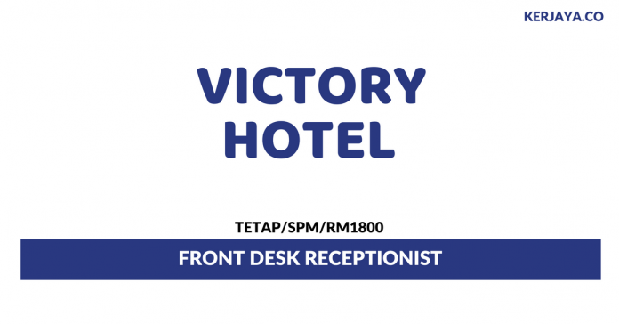 Victory Group Of Hotels ~ Front Desk Receptionist