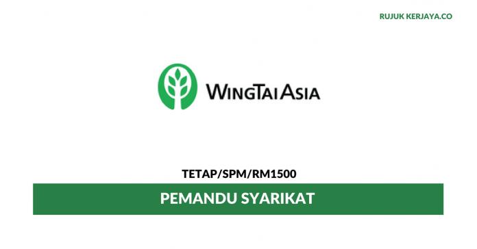 Pemandu Syarikat Wing Tai Clothing ~ Gaji RM1500