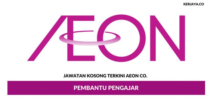 Permohonan Jawatan Kosong AEON Co