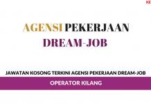 Permohonan Jawatan Kosong Agensi Pekerjaan Dream