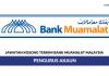 Bank Muamalat Malaysia ~ Pengurus Akaun