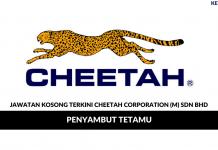Permohonan Jawatan Kosong Cheetah Corporation (M)