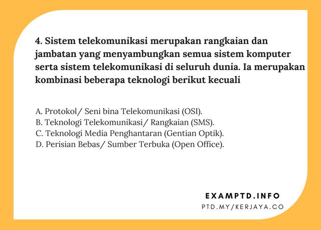 Contoh Soalan PTD M41