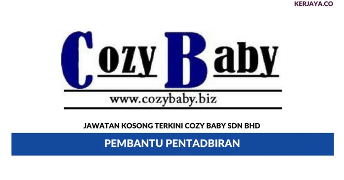 Permohonan Jawatan Kosong Cozy Baby