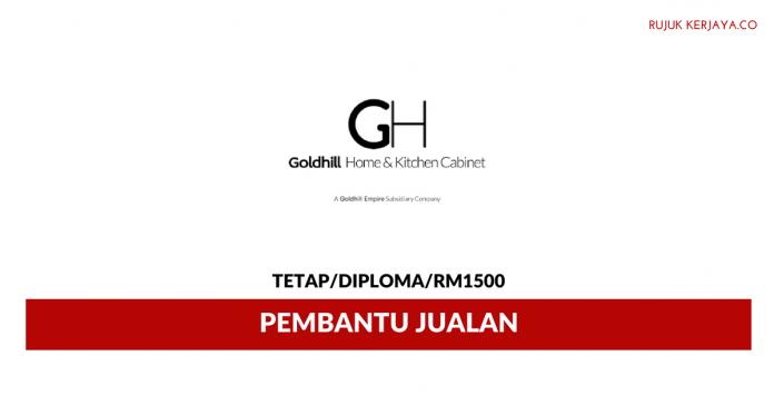 Goldhill Home & Kitchen Cabinet ~ Pembantu Jualan