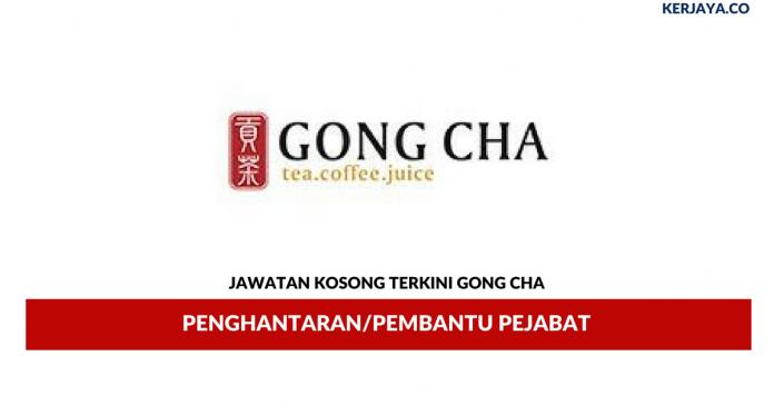 Permohonan Jawatan Kosong Gong Cha