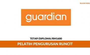 Guardian Health And Beauty ~ Pelatih Pengurusan
