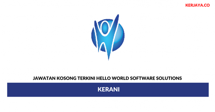 Permohonan Jawatan Kosong Hello World Software Solutions