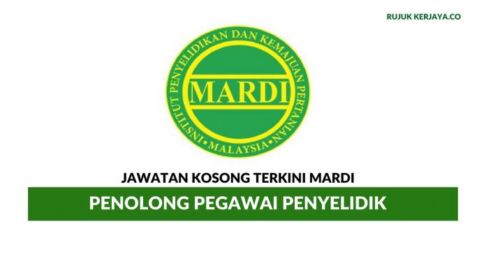 MARDI ~ Penolong Pegawai Penyelidik