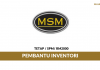 MSM International Limited ~ Pembantu Inventori