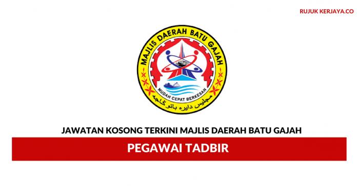 Majlis Daerah Batu Gajah ~ Pegawai Tadbir