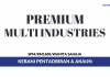 Kerani Pentadbiran Premium Multi Industries ~ Gaji RM1600 / Wanita Sahaja