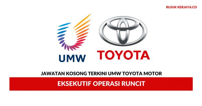 Eksekutif Operasi Runcit UMW Toyota Motor