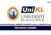 Universiti Kuala Lumpur (UNIKL) ~ Pegawai Tadbir
