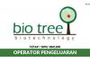 Bio Tree Biotechnology ~ Operator Pengeluaran
