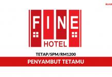 Fine Hotel ~ Penyambut Tetamu