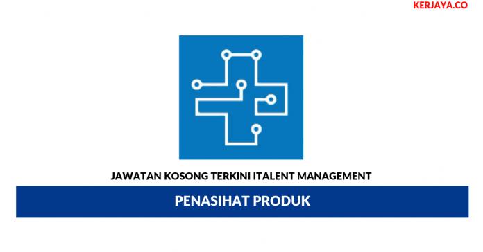 Jawatan Kosong Terkini ITalent Management