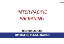 Inter-Pacific Packaging ~ Operator Pengeluaran
