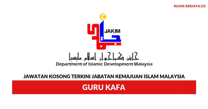 Jabatan Kemajuan Islam Malaysia ~ Guru Kafa
