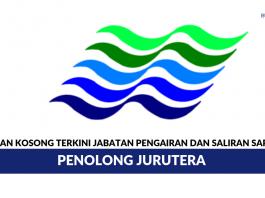 Jabatan Pengairan dan Saliran Sarawak ~ Penolong Jurutera