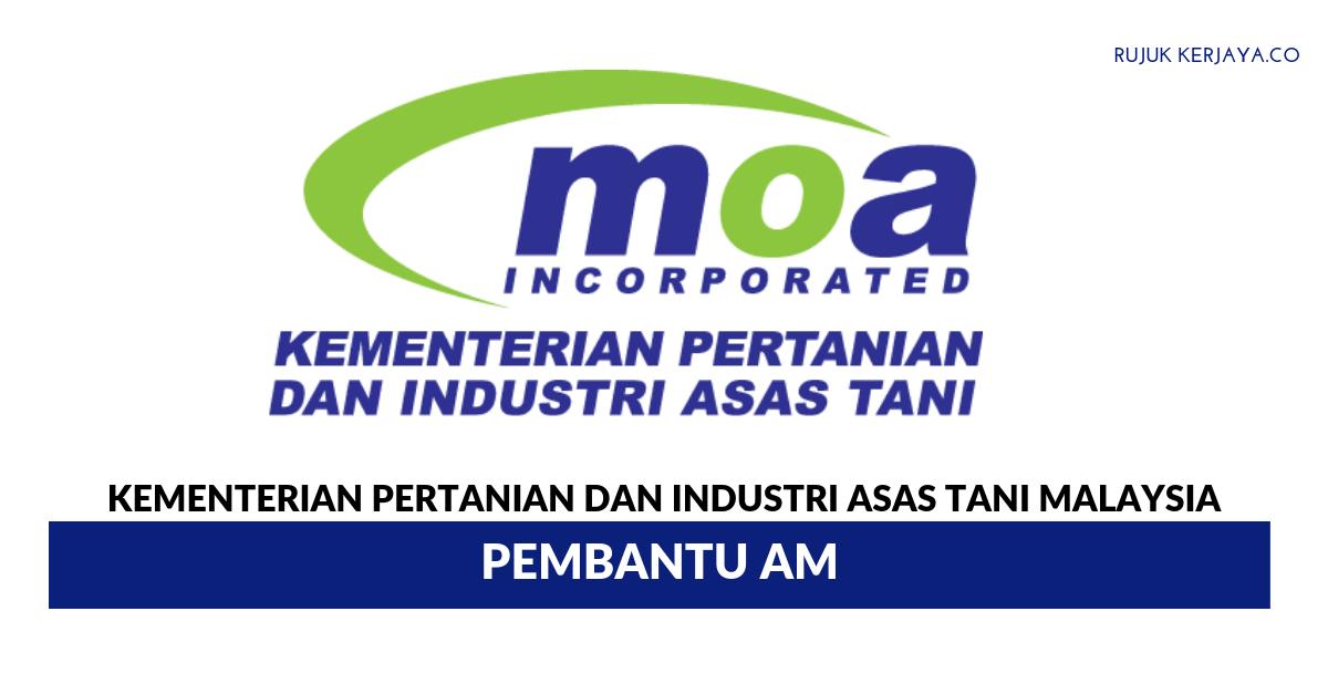 Jawatan Kosong Terkini Kementerian Pertanian Dan Industri Asas Tani Malaysia Lembaga Pertubuhan Peladang Kerja Kosong Kerajaan Swasta