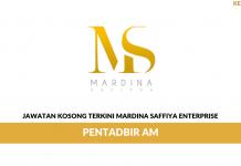 Permohonan Jawatan Kosong Mardina Saffiya Enterprise