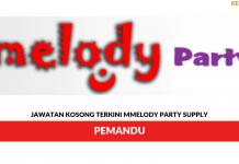 Permohonan Jawatan Kosong Melody Party Supply