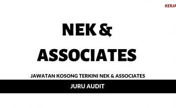 Permohonan Jawatan Kosong NEK & Associates