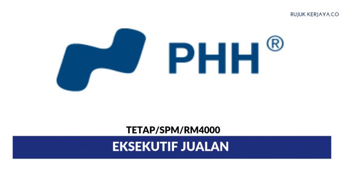 PHH Special Steel ~ Eksekutif Jualan