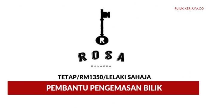 Rosa Hotel ~ Pembantu Pengemasan Bilik