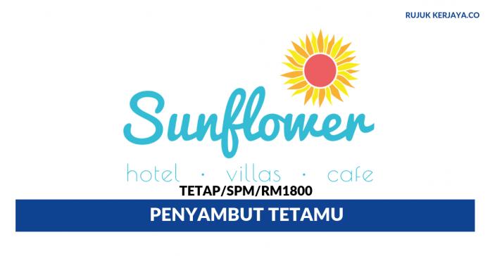 Sunflower Hotel Melaka ~ Penyambut Tetamu