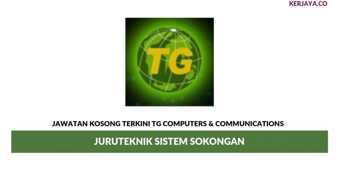 Permohonan Jawatan Kosong TG Computers & Communications