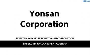 Permohonan Jawatan Kosong Yonsan Corporation