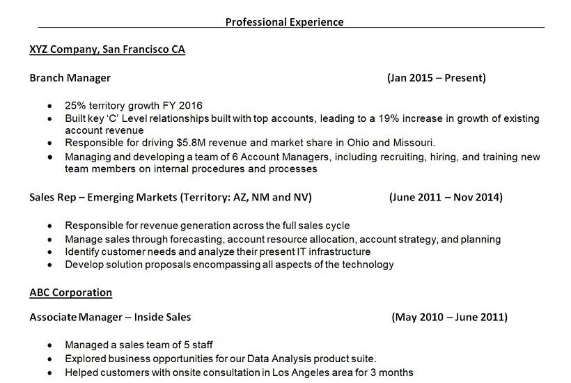 maklumat dalam resume 2