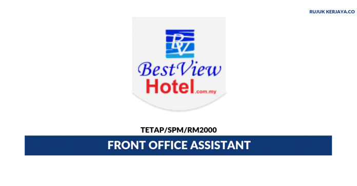Best View Hotel ~ Front Office Assistant