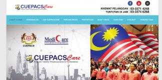 Cara Mendaftar Medical Cards CUEPACSCARE Khas Untuk Penjawat Awam