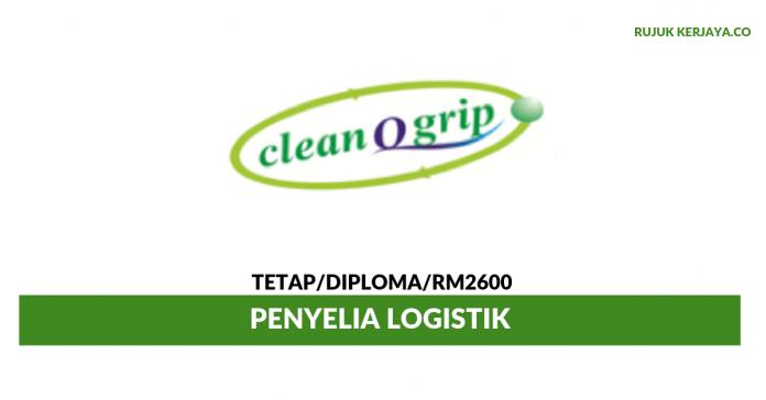 Clean Q Grip ~ Penyelia Logistik
