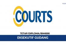 Courts Malaysia ~ Eksekutif Gudang
