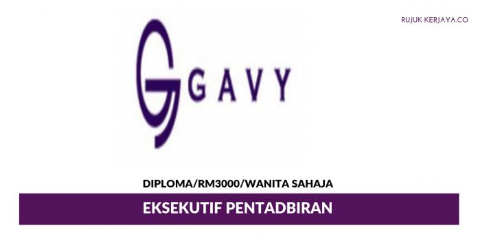 Gavy Marketing ~ Eksekutif Pentadbiran
