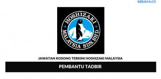 Permohonan Jawatan Kosong Hoshizaki Malaysia