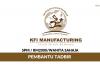 KFI Manufacturing ~ Pembantu Tadbir