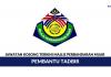 Majlis Perbandaran Muar ~ Pembantu Tadbir